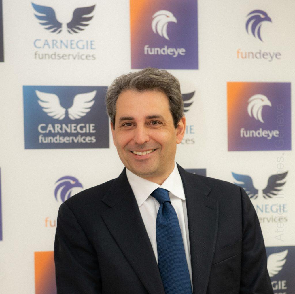 Alexandre Pini, Carnegie Fund Services Directeur commercial