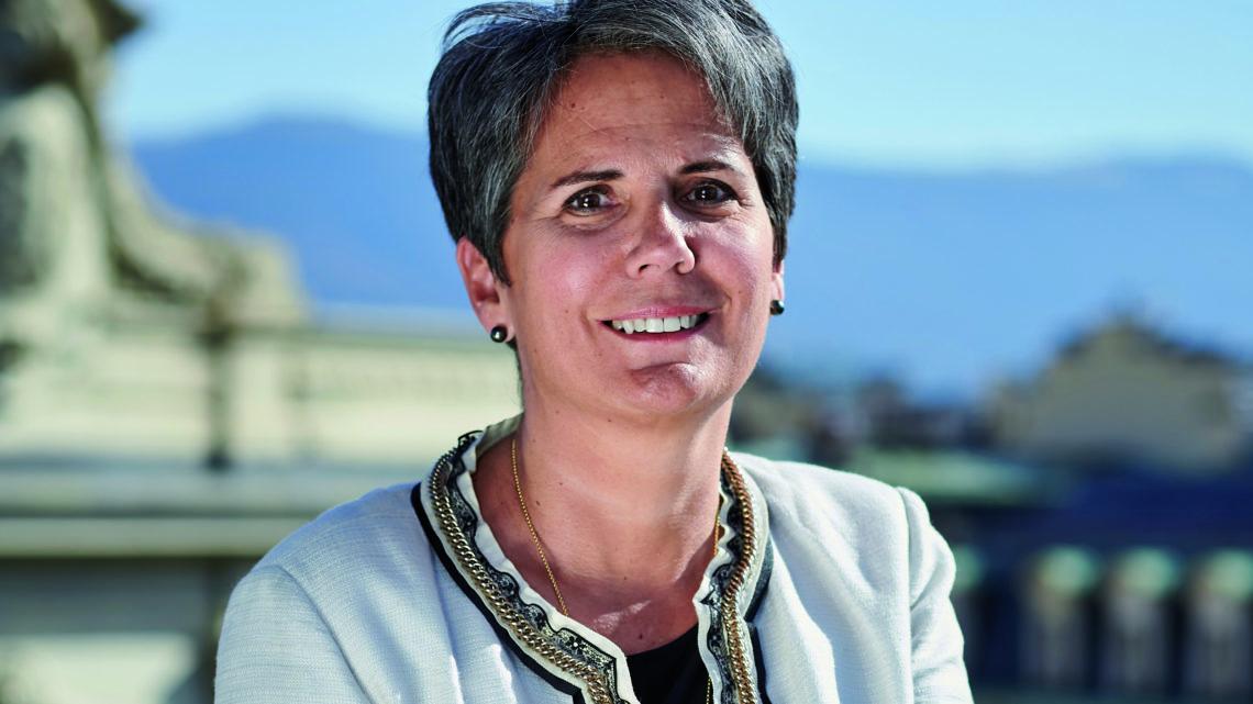 Isabelle Jacob-Nebout,               Responsable Wealth Management d'Indosuez Wealth Management en Suisse